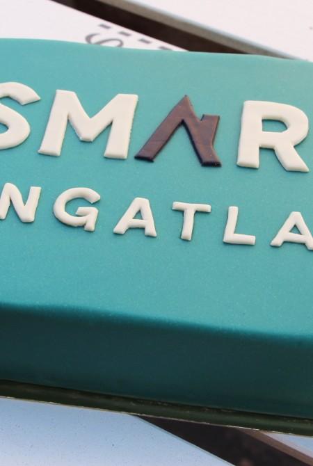 Smart ingatlan céges torta