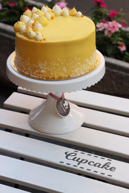 Mangó - kókusz torta