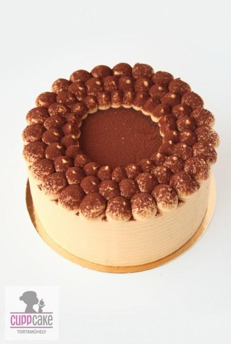 Sóskaramell torta