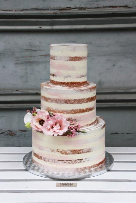 Naked Cake - Rózsaszín