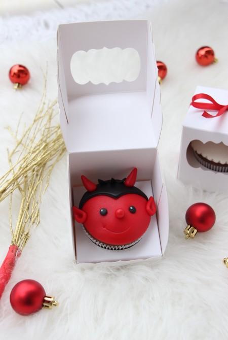 Krampusz cupcake 1 BOX