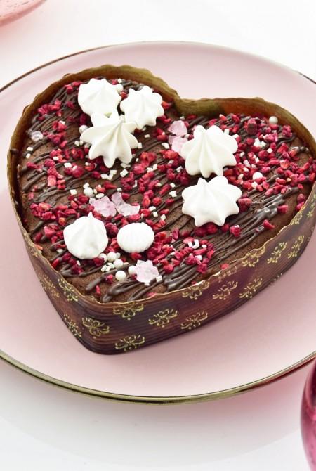 Szív alakú csokis brownie 300g