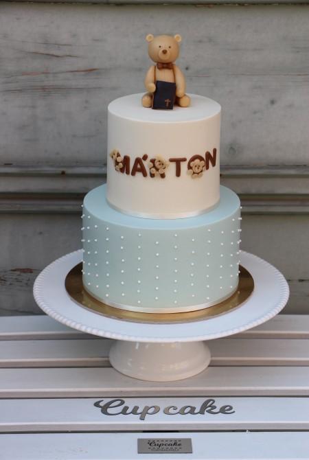 Macis keresztelős torta