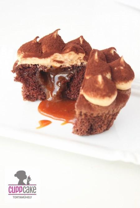 Sóskaramellás cupcake 790Ft / db